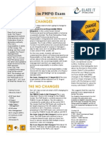 "Review on ""PMP Exam Changes & No Changes in 2011"""