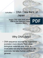 DDBJ DNA Data Bank of Japan