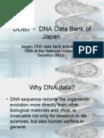 DDBJ DNA Data Bank of Japan