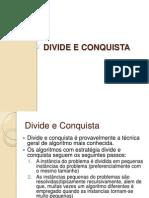 3-Divide e Conquista