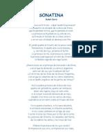 Darío, Rubén - Sonatina