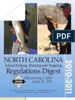 2010-11 Nc Regs Digest