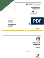 Instructivo Para Certificacion de Competencias v050307