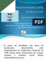 Ações Desenvolvidas pela Defesa Civil de Juiz de Fora