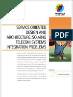 Service Oriented Design Architecture