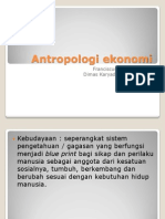 Antropologi ekonomi