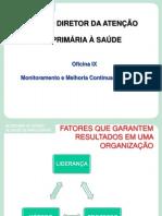 Oficna IX Melhoria Continua PDCA