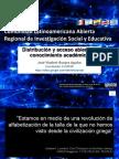 Distribución y acceso abierto al conocimiento académico
