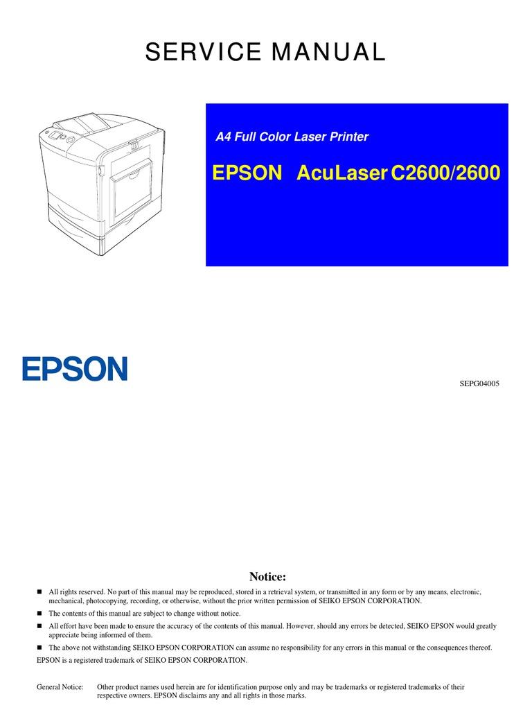 Epson Original Fuser Oil Rolls 21000 Pages for Aculaser C2000 ...