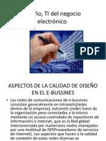 Diseño, TI del negocio electronico clase 3