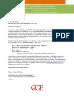 Comunicación a ConsejoEducación- Jornada