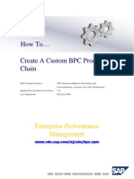 BPC-Custom Process Chain
