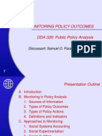 08 Monitoring Policy Outcomes