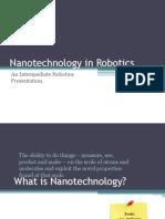 Nanotechnology in Robotics