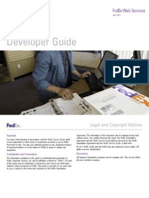 PropDevGuide_2600 | Soap | Web Service