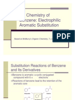 Benzene Electrophilic Aromatic Substitution