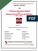 Project Report Coca Cola