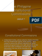The Philippine Constitutional Commissions