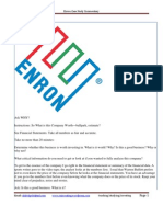 Enron Case Study_So What is It Worth