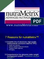NutraMetrix 7 Reasons Presentation