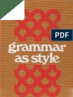 Virginia Tufte - Grammar as Style