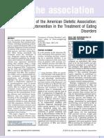 ADA Position Paper EDs Published