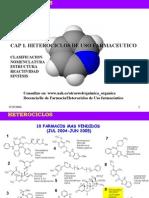 Heterociclicos de Uso Farmaceutico