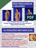 ALTERAÇÕES FISIOLÓGICAS DA GRAVIDEZ
