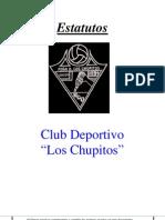 Estatutos Club Deportivo Peña Los Chupitos