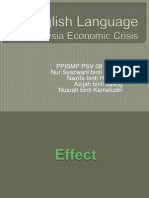 Malaysia Economic Crisis
