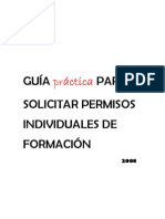 Guia Permisos Individuals Formacio 2008
