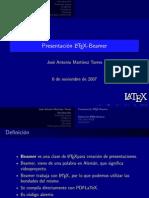 Presentacion Latex Beamer