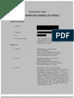 González Pérez, Ramón Horacio