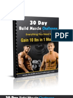 30 Day Build Muscle Challenge