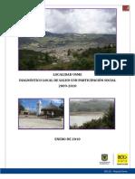 Diagnóstico Local con Participación Social - Usme 2009-10
