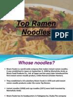 Top_Ramen Marketing Analysis