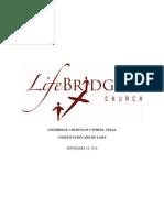Life Bridge Constitution 2010