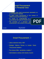 (1998) Smart Procurement overview