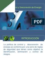 Control y Desconexión de Energía