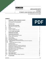 PLM01 St7537 App Note