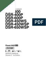Sony Dsr-450wsp - Vol. 2