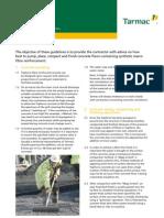 034 069 Tarmac Topforce Contractor Guidelines Sheet