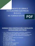to de Obras de Instalaciones Electric As