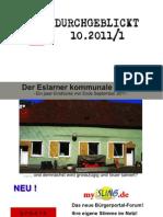 """Durchgeblickt - 10.2011 - Bestandsaufnahme kommunaler Einrichtungen - 01 """"Bauhof"""""""