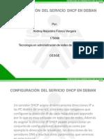 Configuracion de DHCP en Debian