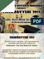 Chakravyuh 2011 PR Brochure