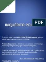 INQUERITO POLICIAL
