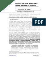 Debate Reforma Constitucional