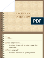 Facing Interview