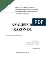 Analisis de Los Edo Financieros (Analisis de Razones)